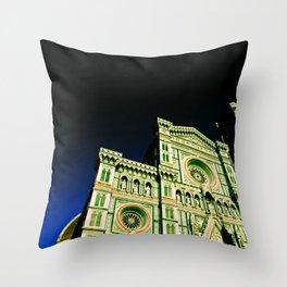 Il Duomo di Firenze II Throw Pillow