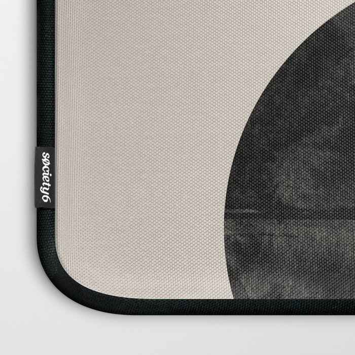 Woodblock Print, Modern Art Laptop Sleeve