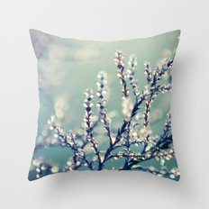 once upon a time in October Throw Pillow