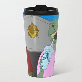 Lizard Gossip Travel Mug