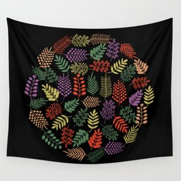 Colorful branches 2 Wall Tapestry