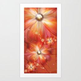 La Roja Heat Art Print