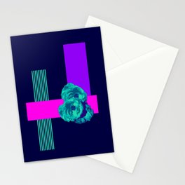 Neon Roses #society6 #roses Stationery Cards