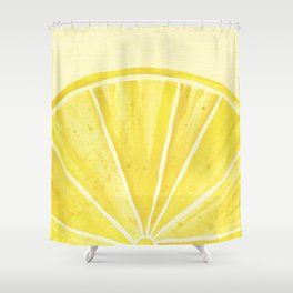 Lemony Goodness Shower Curtain