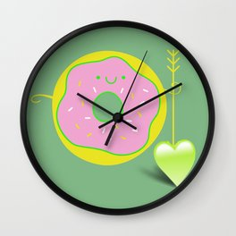 I feel a love *** happy D Wall Clock