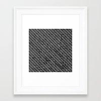 herringbone Framed Art Prints featuring Herringbone by Sharon H.