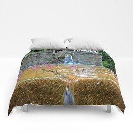 Hidden Fountain Comforters