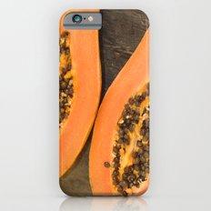 papaya fruit Slim Case iPhone 6s