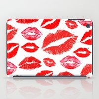 lips iPad Cases featuring Lips by deff