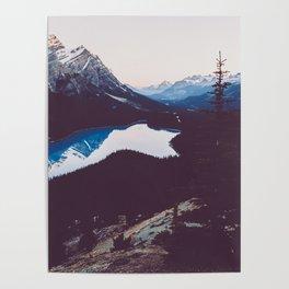 Peyto Lake - Banff National Park Poster