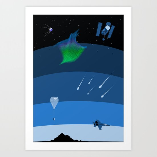 Sputnik Sweetheart Art Print