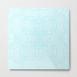 Impulse Blue-art print Metal Print