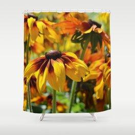 Flower meadow 128 Shower Curtain