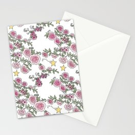 Project 52 | Pale Roses on White Stationery Cards