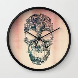 Skull Vintage Wall Clock