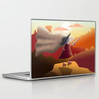 hero Laptop & iPad Skins featuring Hero by Loezelot
