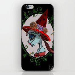 Day of the witches iPhone Skin