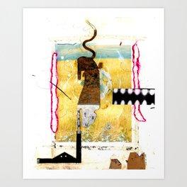 Factory on the Plain (aka: Prairie Plantation) Art Print