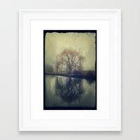 fog Framed Art Prints featuring Fog by KunstFabrik_StaticMovement Manu Jobst