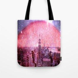 Galaxy : Space Colony Tote Bag