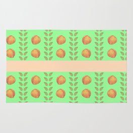 Mint and Peaches Rug