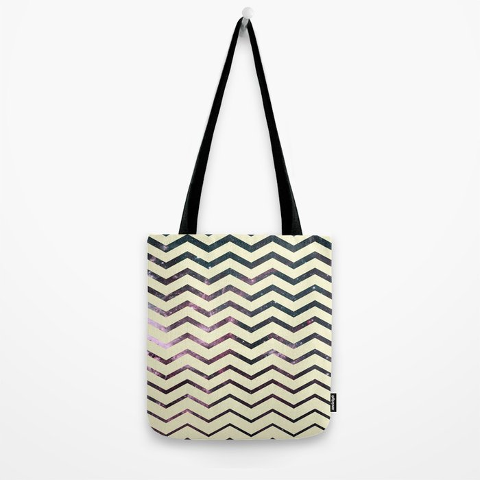 Cosmic Zag Tote Bag