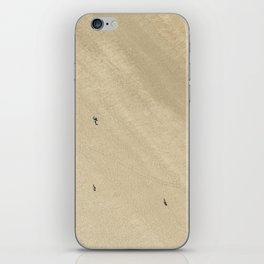 Aerial Views over Polzeath Beach, Cornwall iPhone Skin