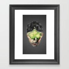 Triangles Video Games Heroes - Sam Fisher Framed Art Print