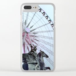 Paris Street Style No. 5 Clear iPhone Case