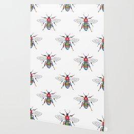 Technicolor Bee Wallpaper