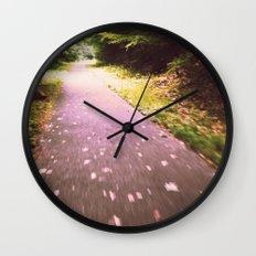 Wishing for Wings Wall Clock