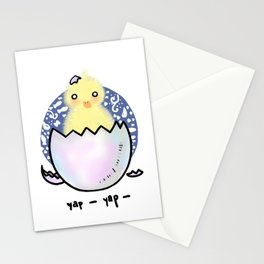 Baby Duck Stationery Cards