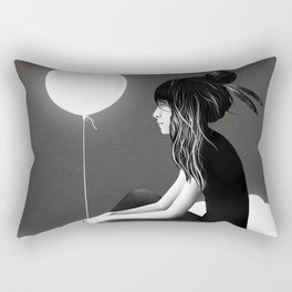 No Such Thing As Nothing (By Night) Rectangular Pillow
