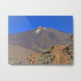 Mount Teide Tenerife Metal Print