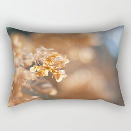 Gold Glitter Rectangular Pillow