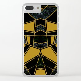 Abstract #546 Clear iPhone Case