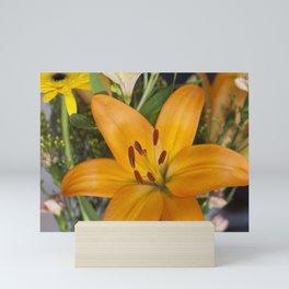 Lilium in Orange Mini Art Print