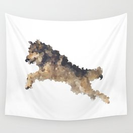 Penrose Tiling Wolf Wall Tapestry