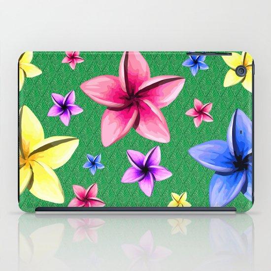 Flower Crazy iPad Case
