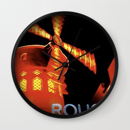 Moulin.Rouge Wall Clock