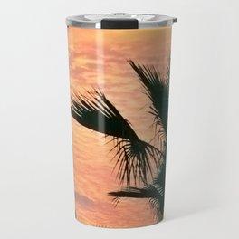 palm paradise Travel Mug