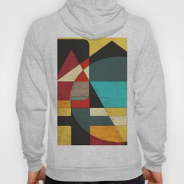 Decorative Geometric Abstract Hoody