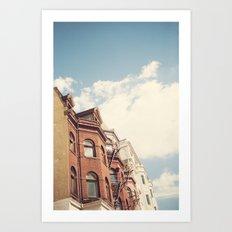 Georgetown Art Print