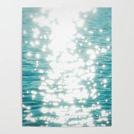 Sun glitter Poster