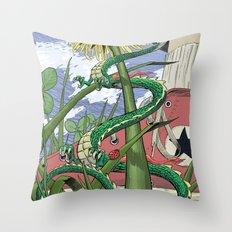 Dragons Unseen  Throw Pillow