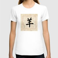 goat T-shirts featuring GOAT  by Calligrapher