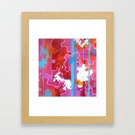 """Puzzle Piece"" Framed Art Print"