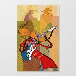 Floyd Pepper and the Electric Mayhem Canvas Print
