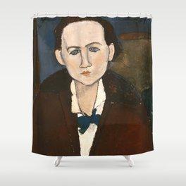 "Amedeo Modigliani ""Elena Povolozky"" Shower Curtain"