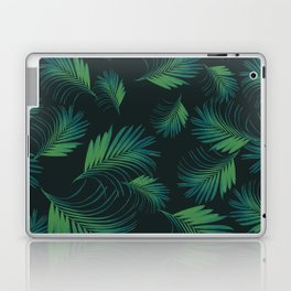 Tropical Night Palms Pattern #1 #tropical #decor #art #society6 Laptop & iPad Skin